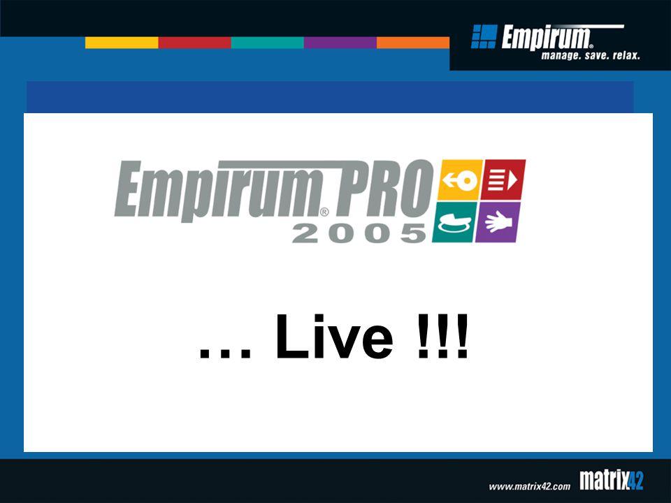 … Live !!!