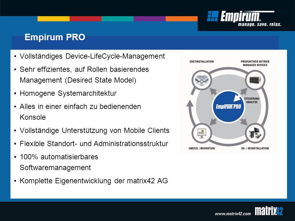 Empirum PRO Vollständiges Device-LifeCycle-Management