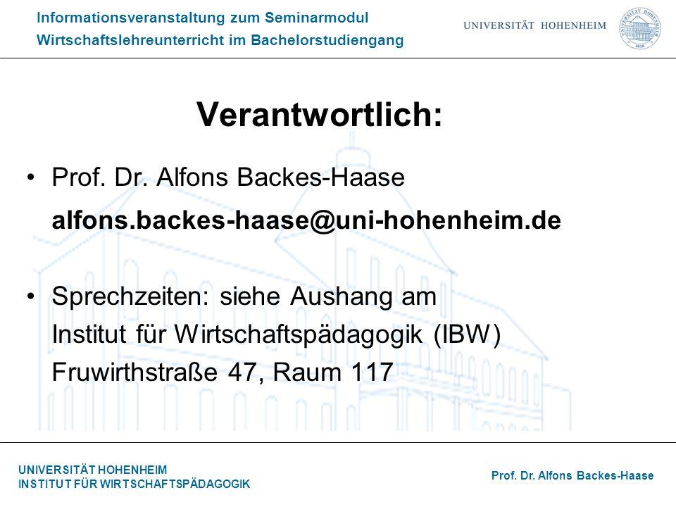 Verantwortlich: alfons.backes-haase@uni-hohenheim.de
