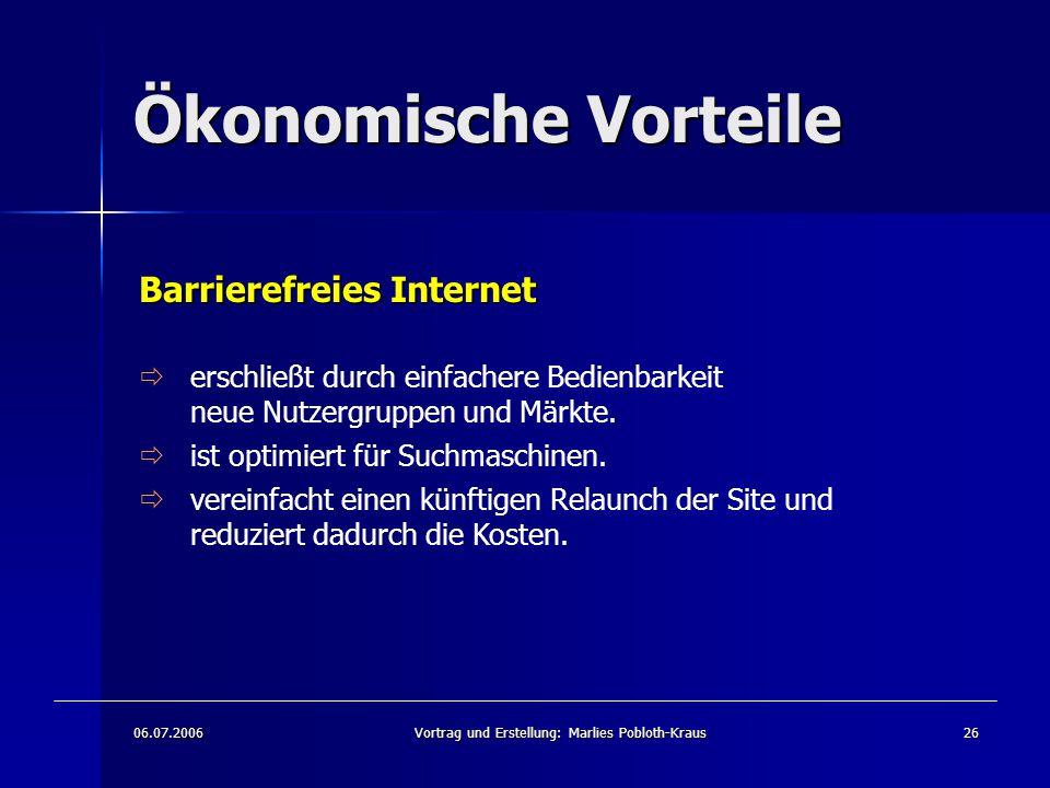 Vortrag und Erstellung: Marlies Pobloth-Kraus