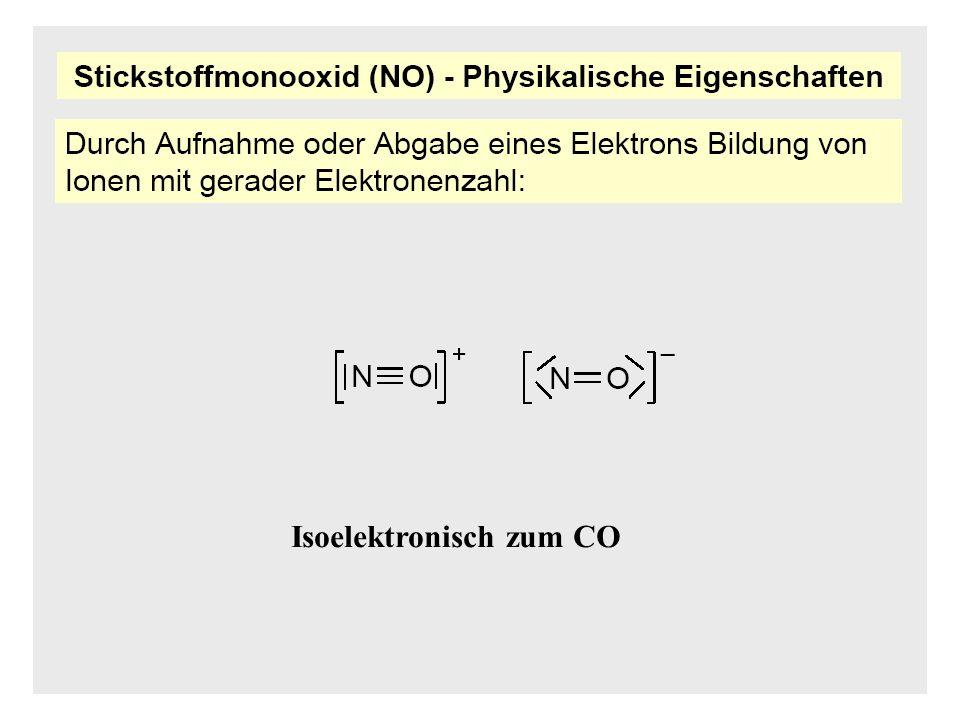 Isoelektronisch zum CO