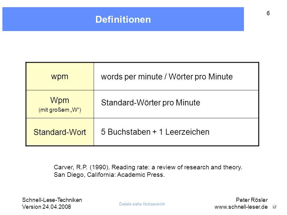 Definitionen wpm Wpm Standard-Wort