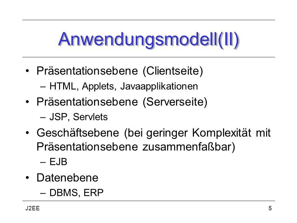 Anwendungsmodell(II)