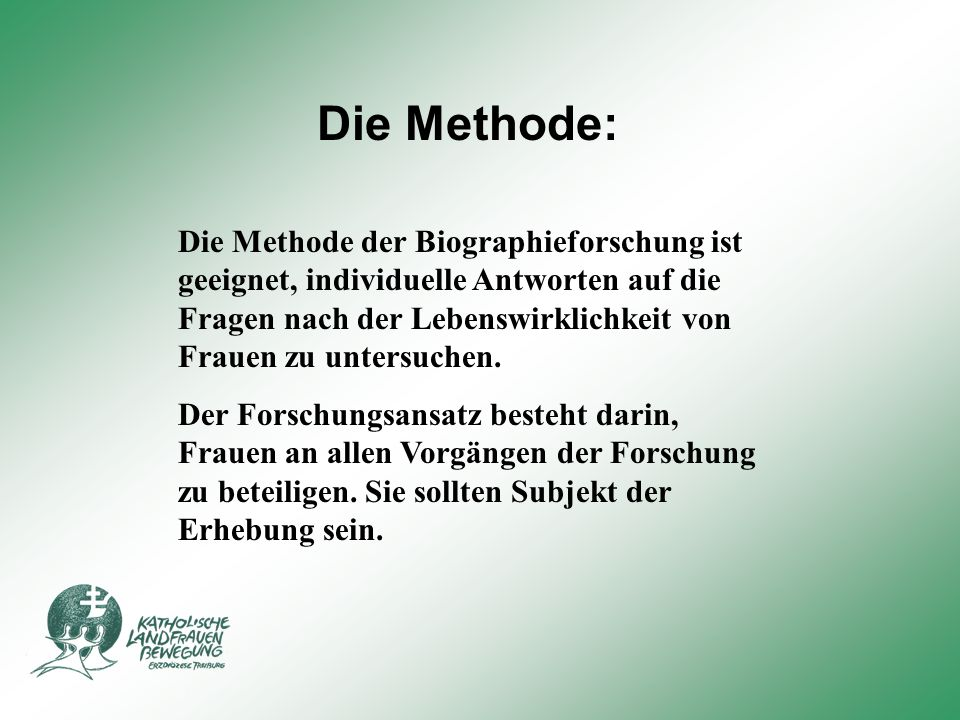 Die Methode: