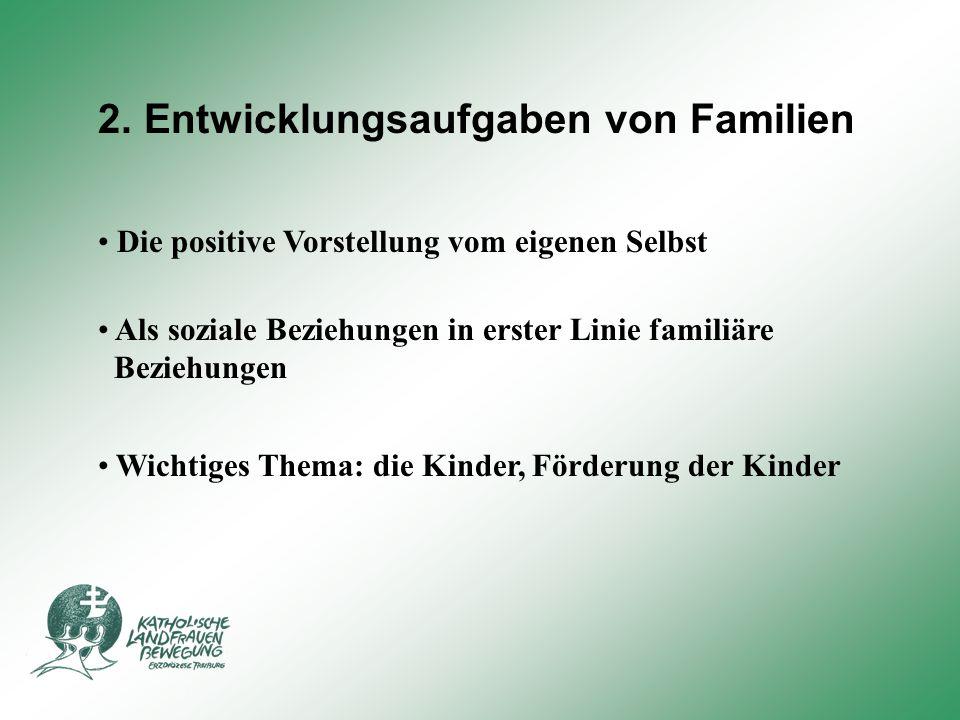 2. Entwicklungsaufgaben von Familien