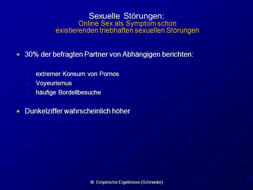 III. Empirische Ergebnisse (Schneider)