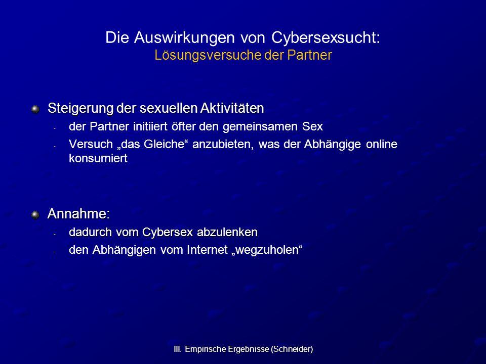 Die Auswirkungen von Cybersexsucht: Lösungsversuche der Partner