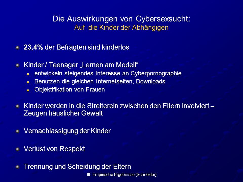 Die Auswirkungen von Cybersexsucht: Auf die Kinder der Abhängigen