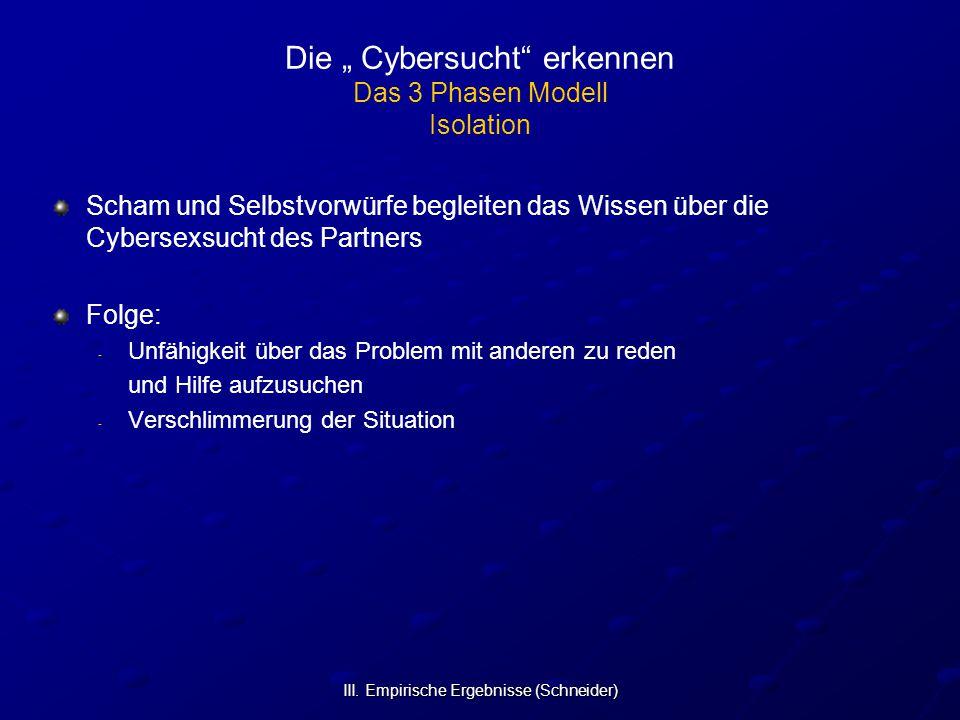 """Die """" Cybersucht erkennen Das 3 Phasen Modell Isolation"""