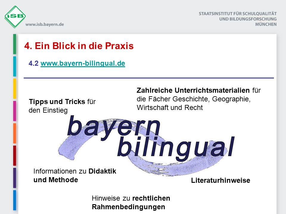 4. Ein Blick in die Praxis 4.2 www.bayern-bilingual.de