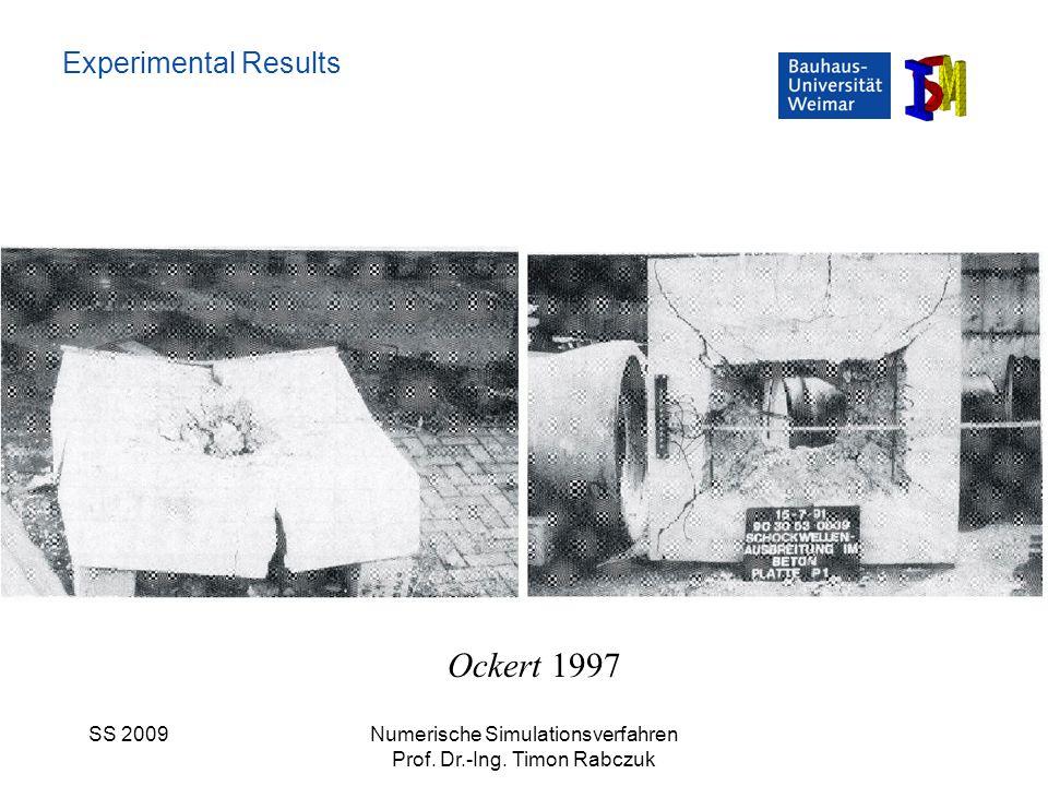 Ockert 1997 Experimental Results SS 2009