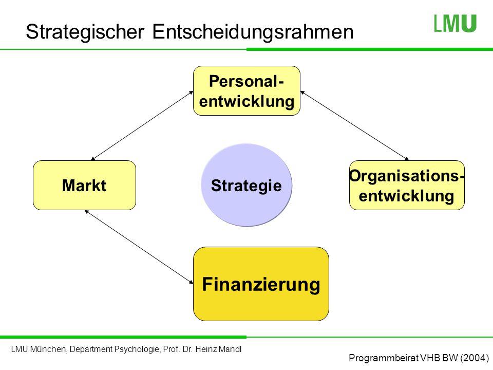 Strategischer Entscheidungsrahmen