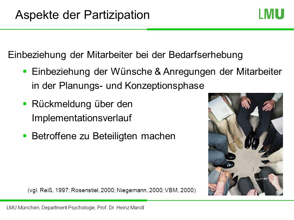 Aspekte der Partizipation