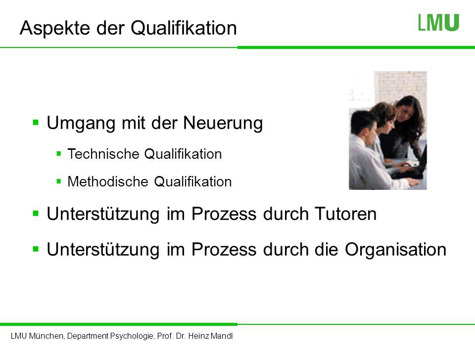 Aspekte der Qualifikation