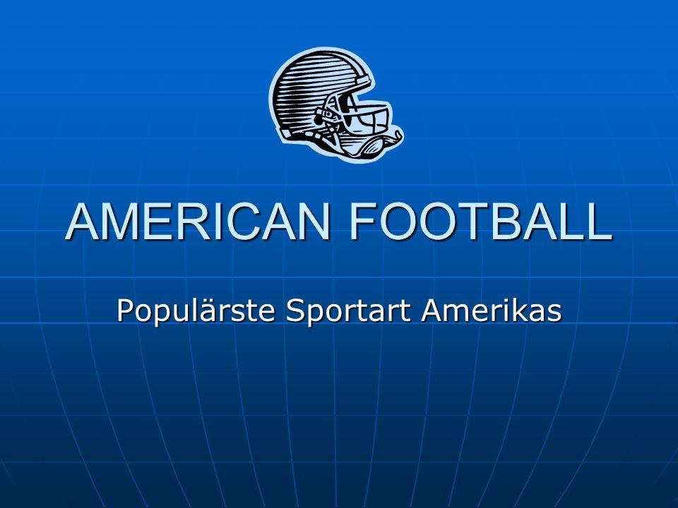 Populärste Sportart Amerikas