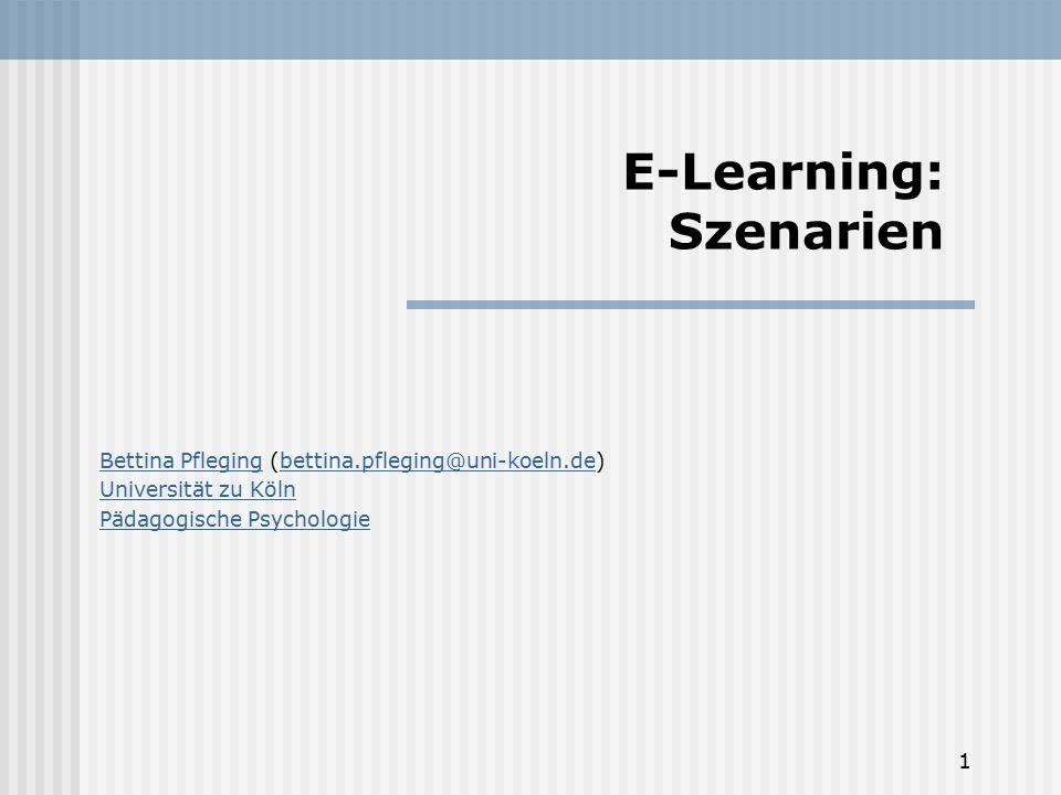 E-Learning: Szenarien