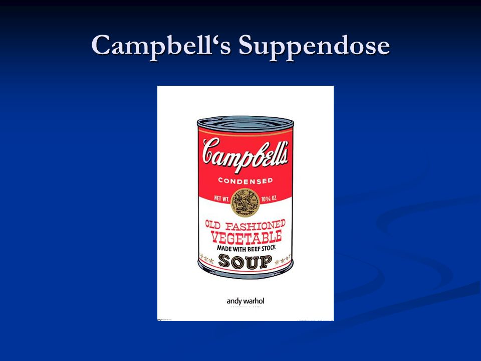 Campbell's Suppendose