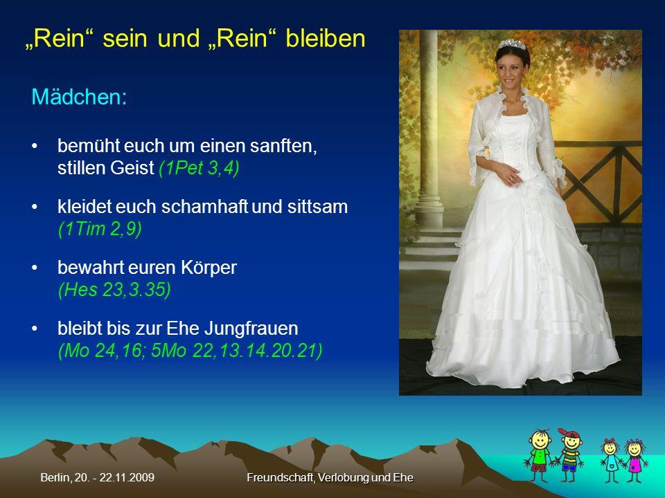 Freundschaft, Verlobung und Ehe
