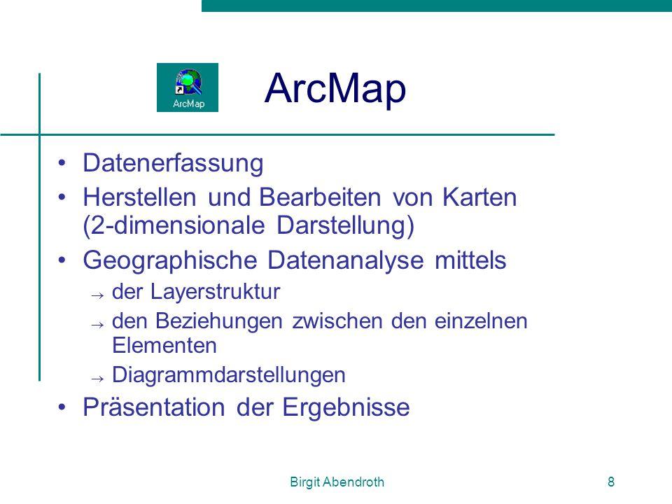 ArcMap Datenerfassung