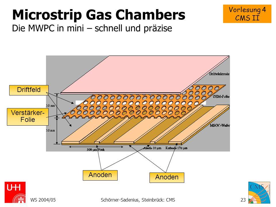 Microstrip Gas Chambers Die MWPC in mini – schnell und präzise