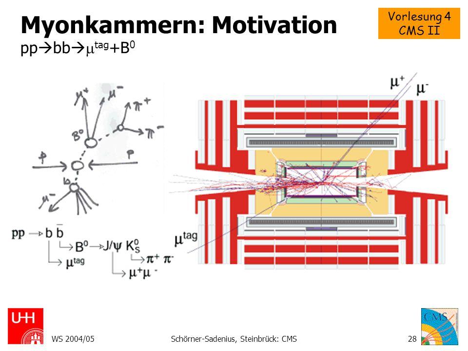 Myonkammern: Motivation ppbbtag+B0