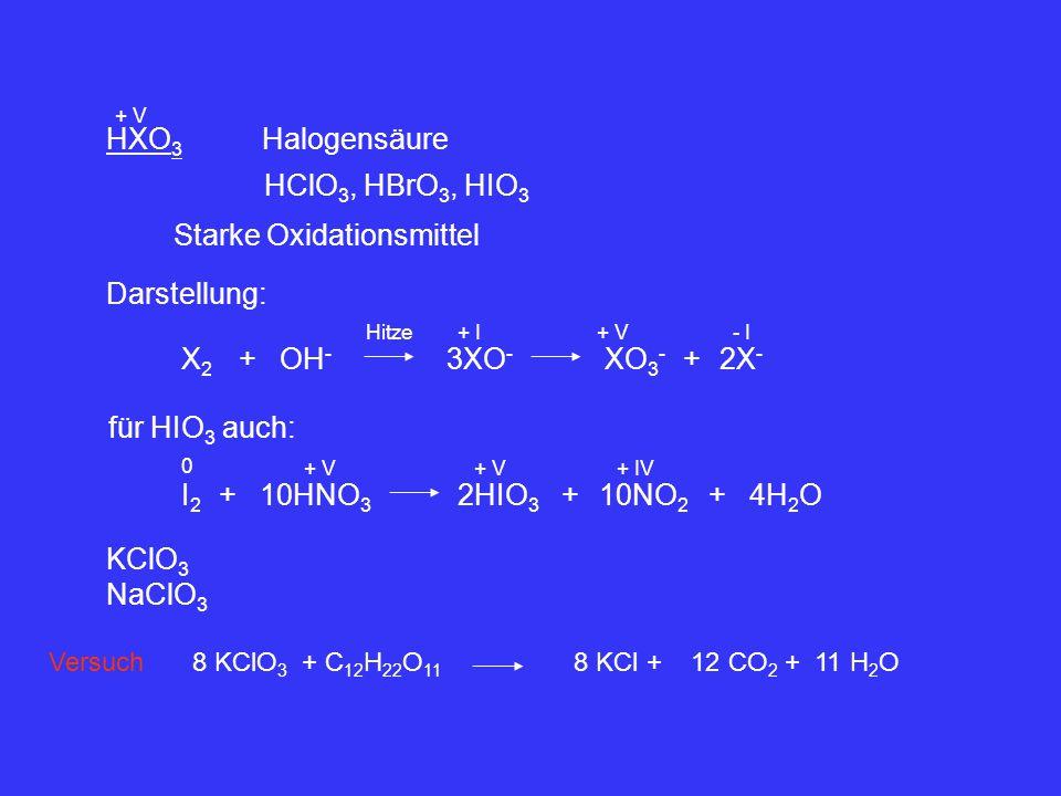 Starke Oxidationsmittel