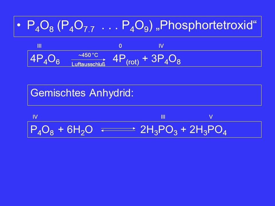 "P4O8 (P4O7.7 . . . P4O9) ""Phosphortetroxid"