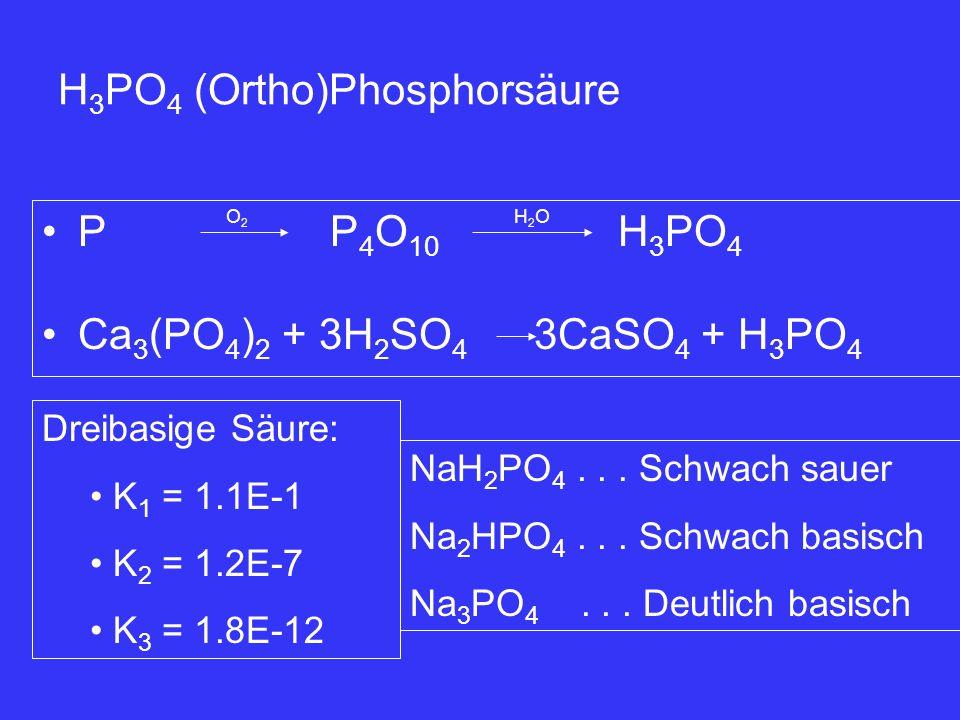 H3PO4 (Ortho)Phosphorsäure
