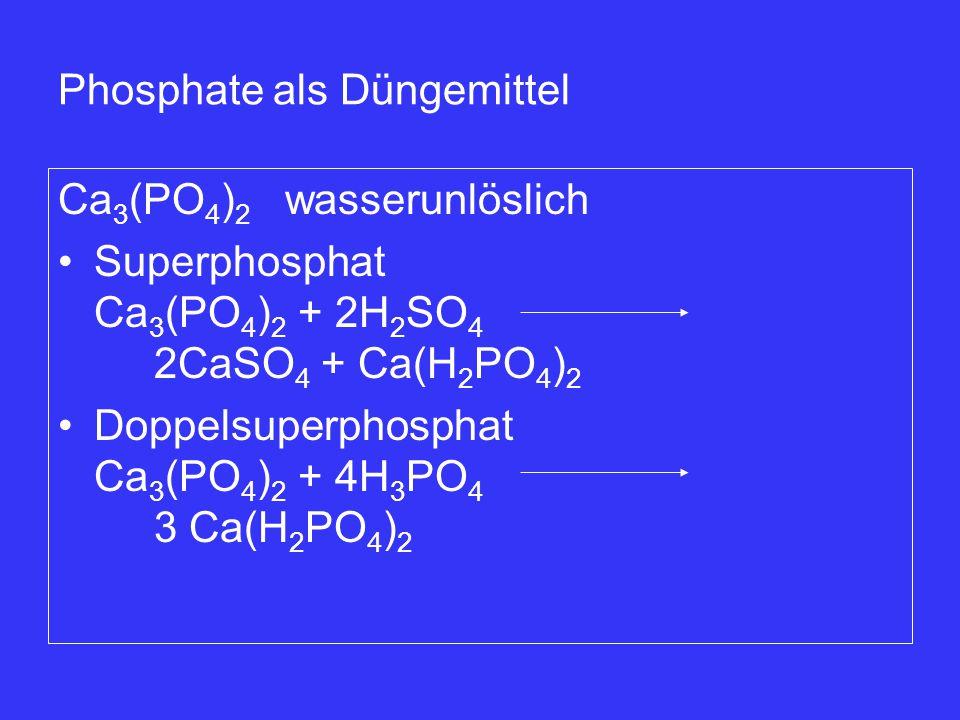 Phosphate als Düngemittel