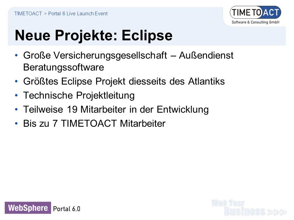 Neue Projekte: Eclipse