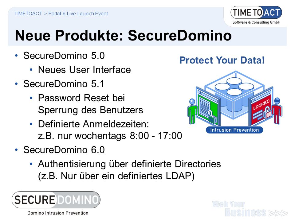 Neue Produkte: SecureDomino