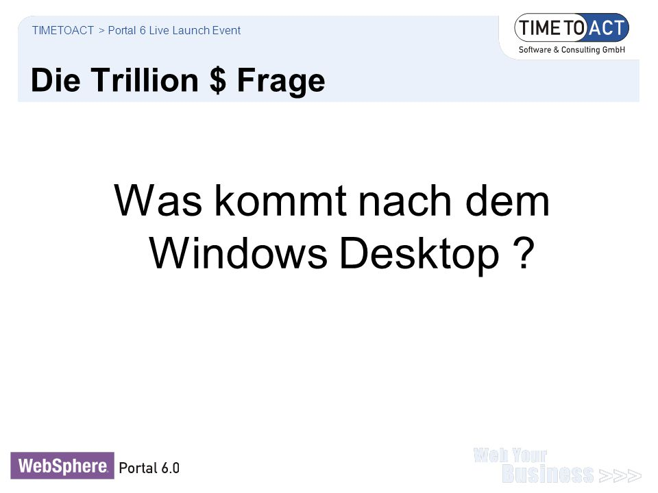 Was kommt nach dem Windows Desktop