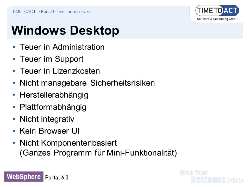 Windows Desktop Teuer in Administration Teuer im Support