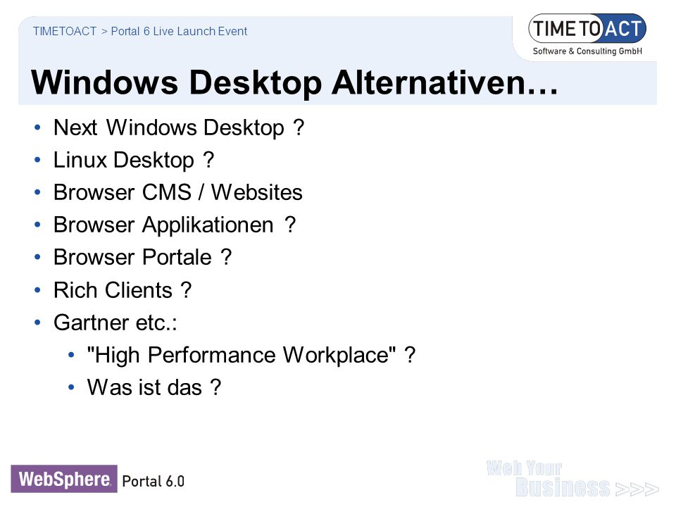 Windows Desktop Alternativen…