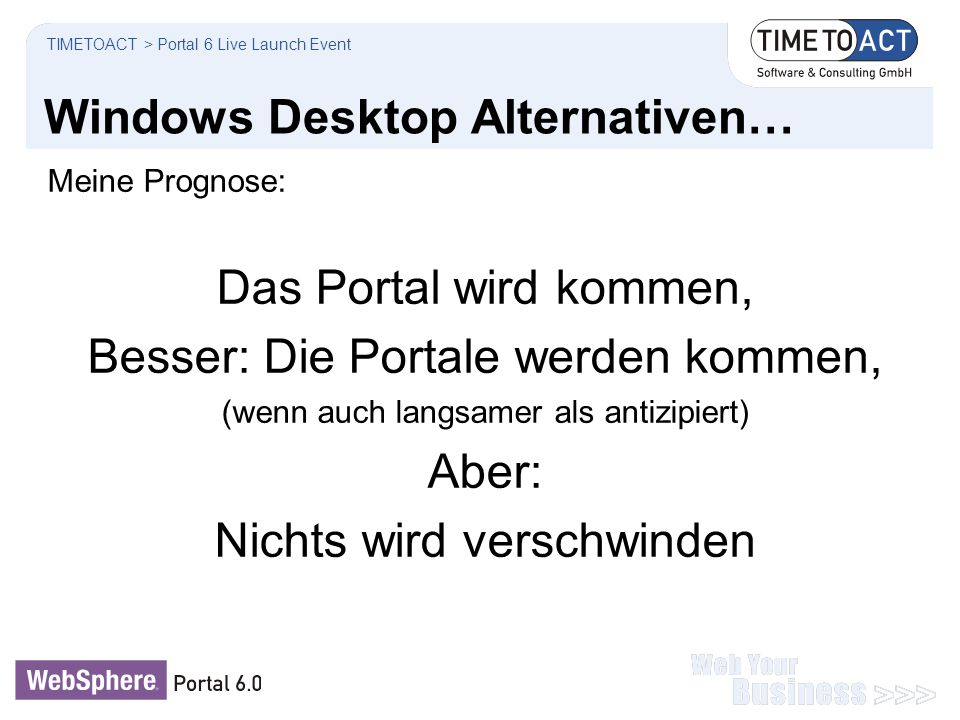 Windows Desktop Alternativen…