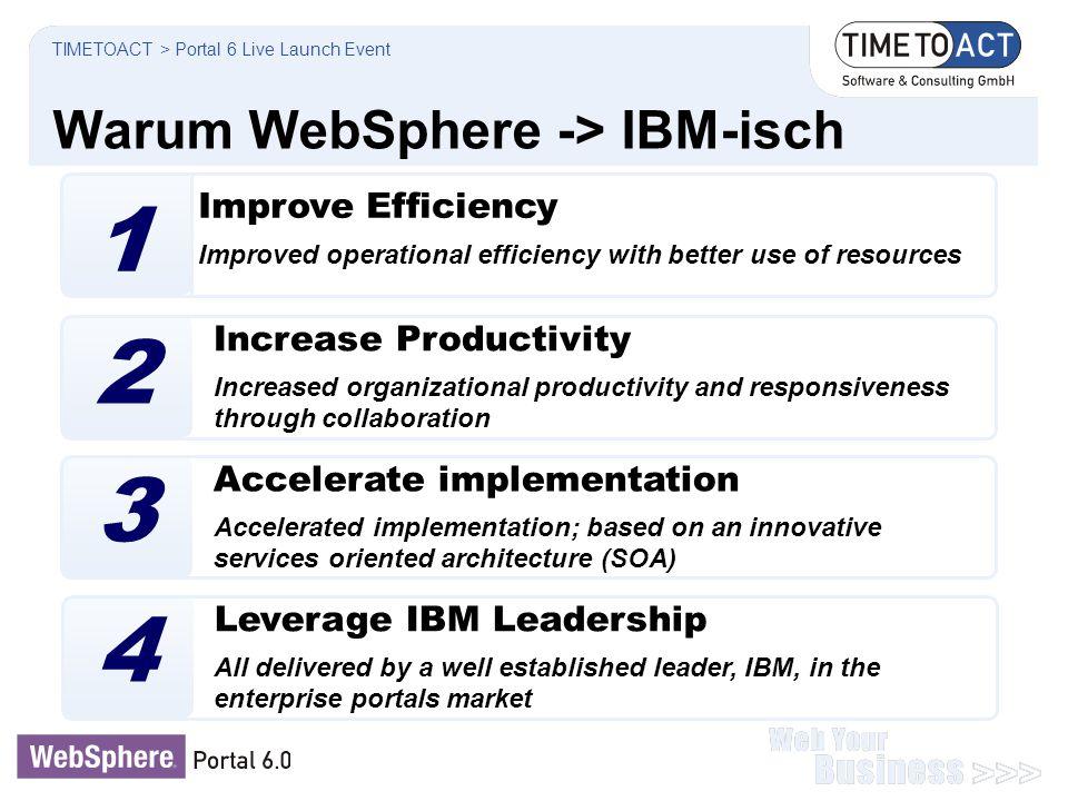Warum WebSphere -> IBM-isch