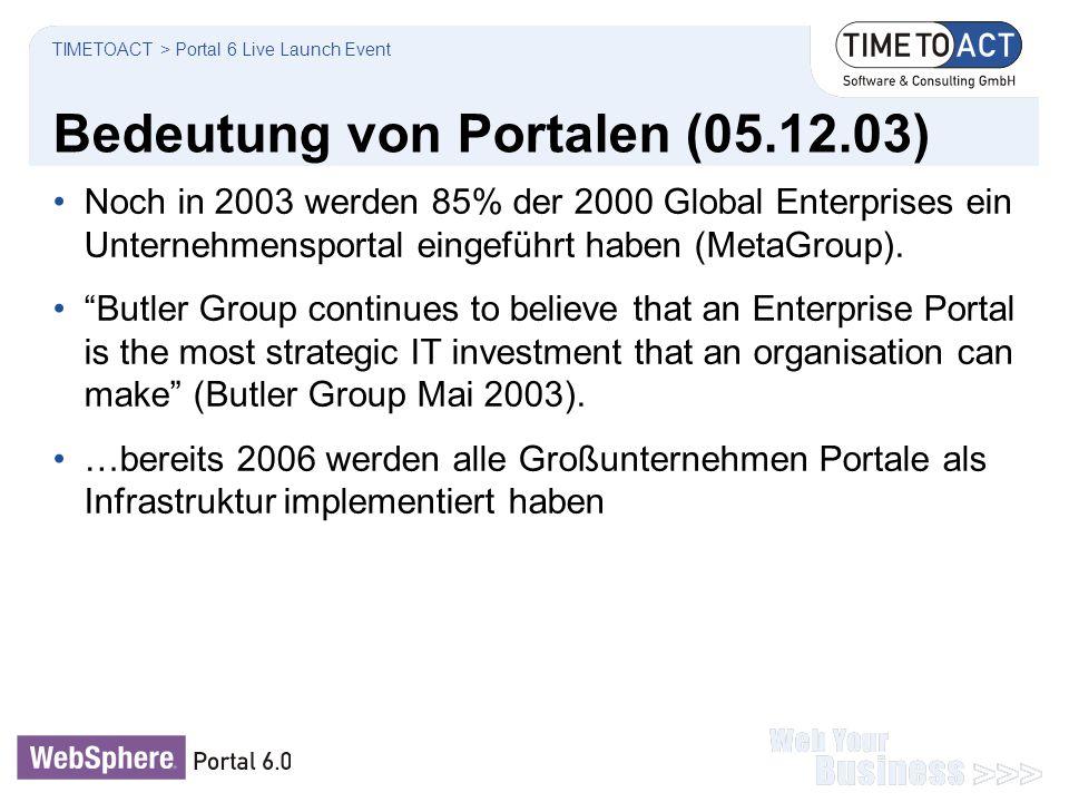 Bedeutung von Portalen (05.12.03)