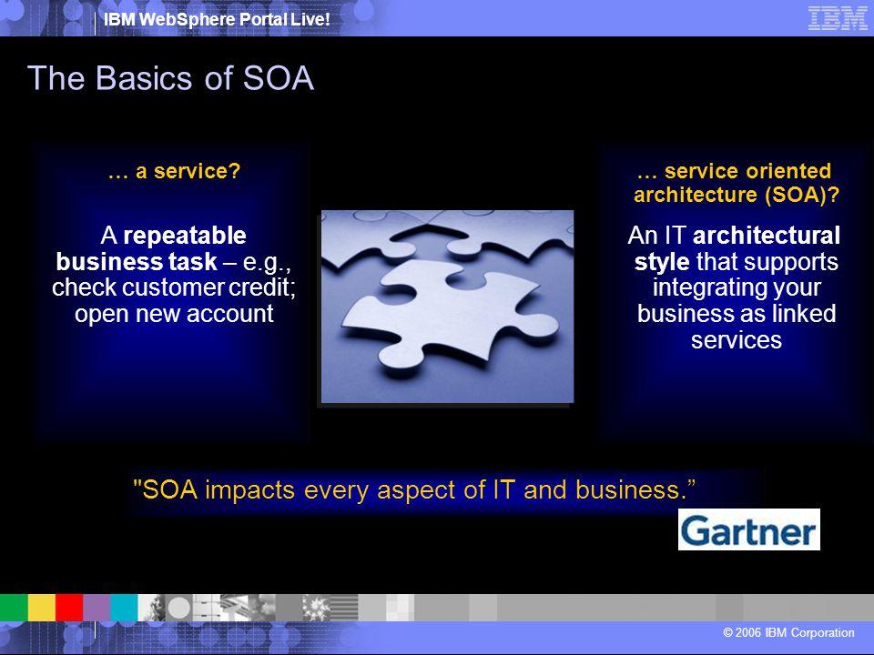 … service oriented architecture (SOA)