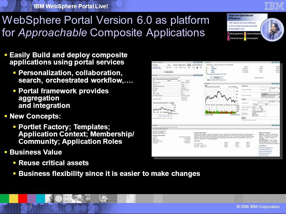 WebSphere Portal Version 6