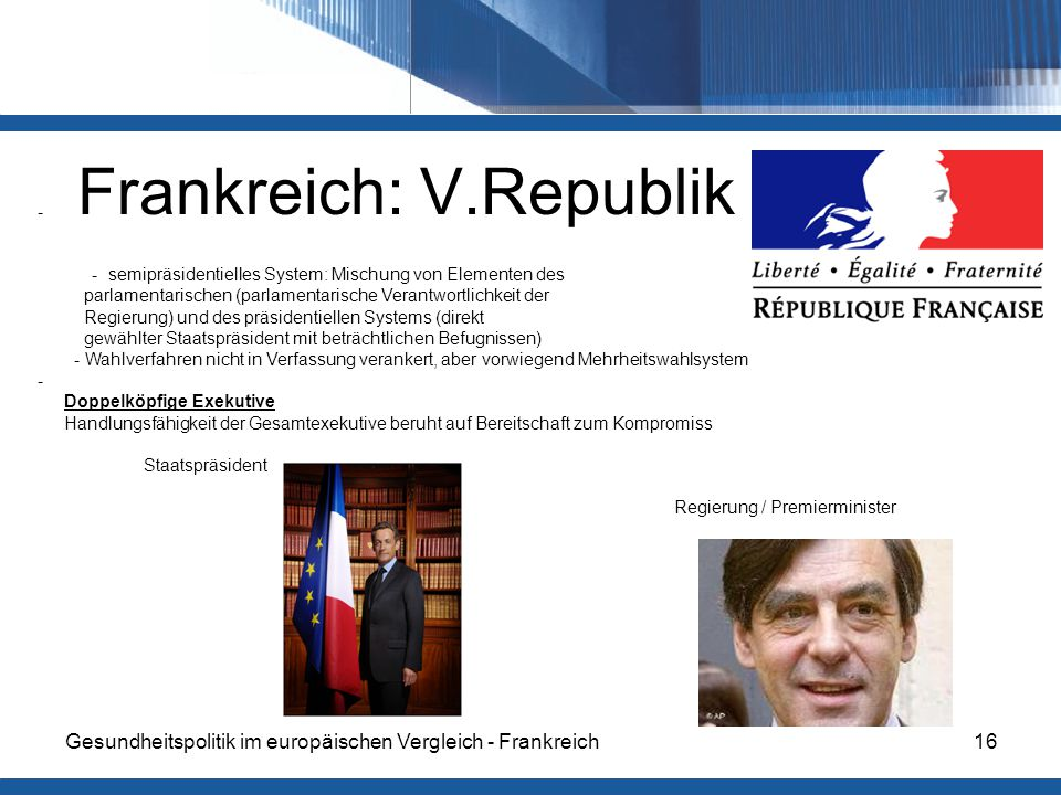 Frankreich: V.Republik