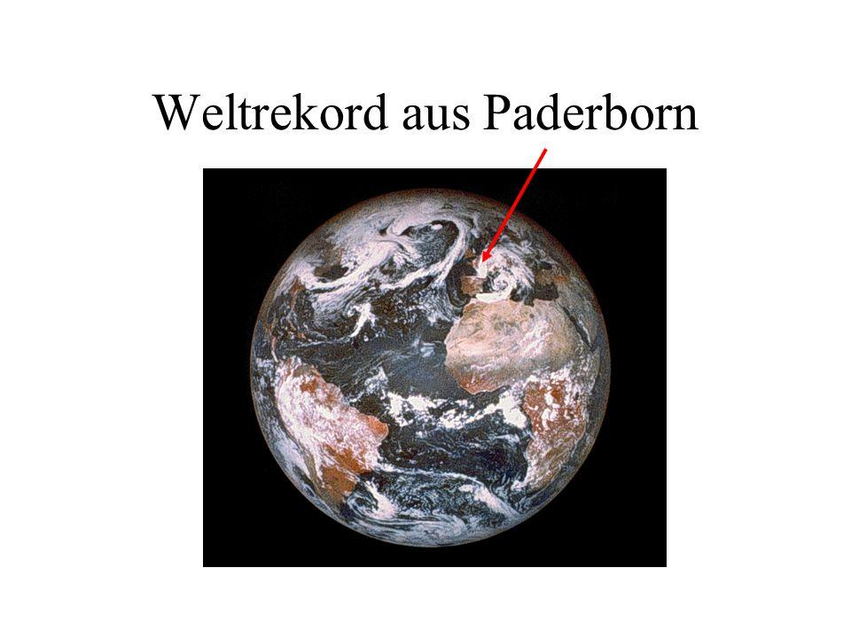 Weltrekord aus Paderborn