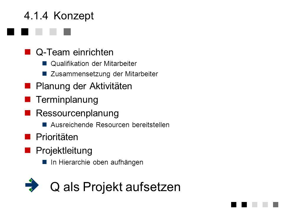 Q als Projekt aufsetzen