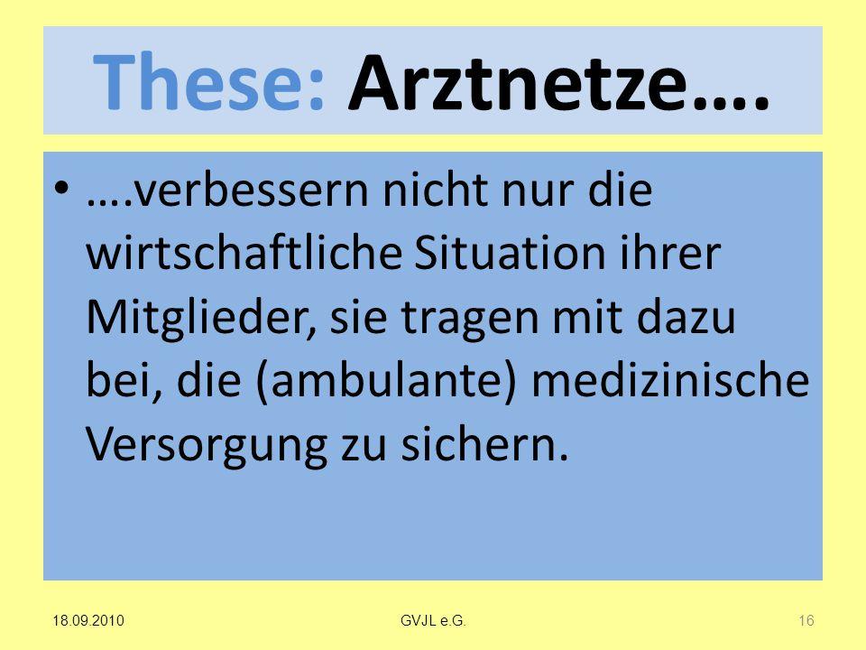 These: Arztnetze….