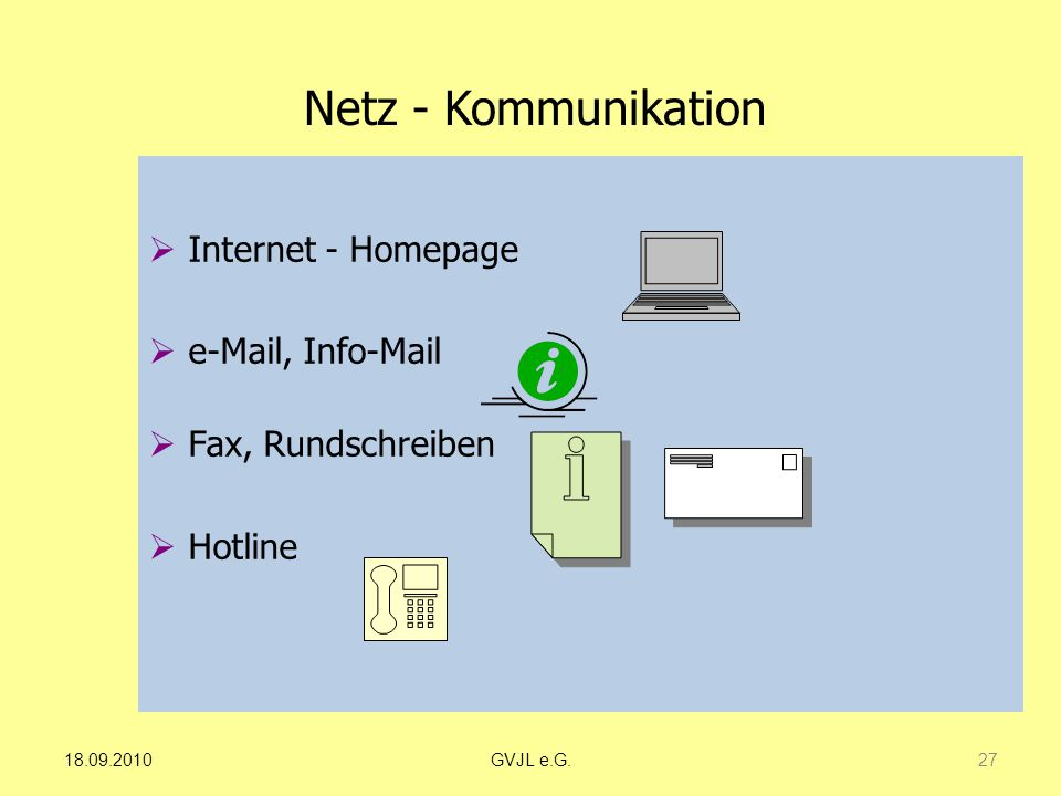 Netz - Kommunikation Internet - Homepage e-Mail, Info-Mail