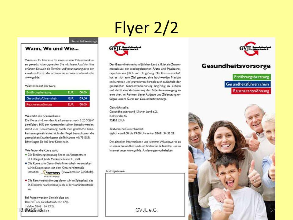 Flyer 2/2 18.09.2010 GVJL e.G.