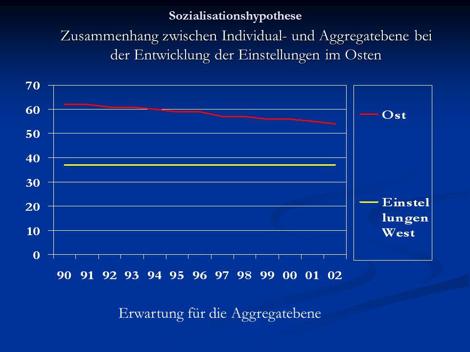 Sozialisationshypothese