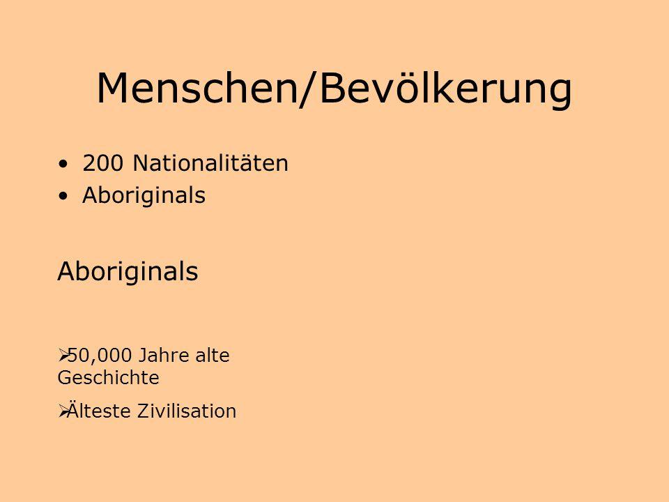 Menschen/Bevölkerung