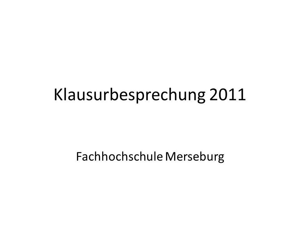 Fachhochschule Merseburg