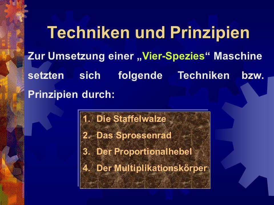 Techniken und Prinzipien
