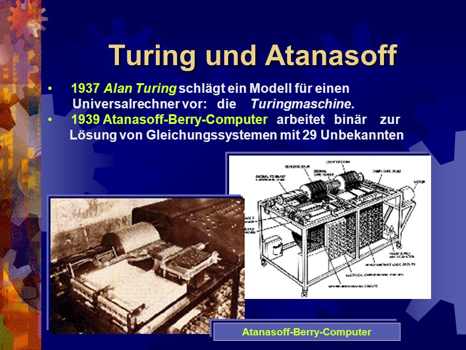 Atanasoff-Berry-Computer